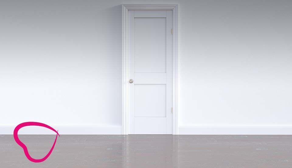 relato puerta persona mayor