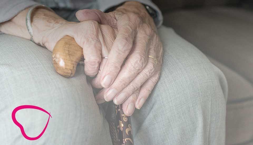 bastón para mayores