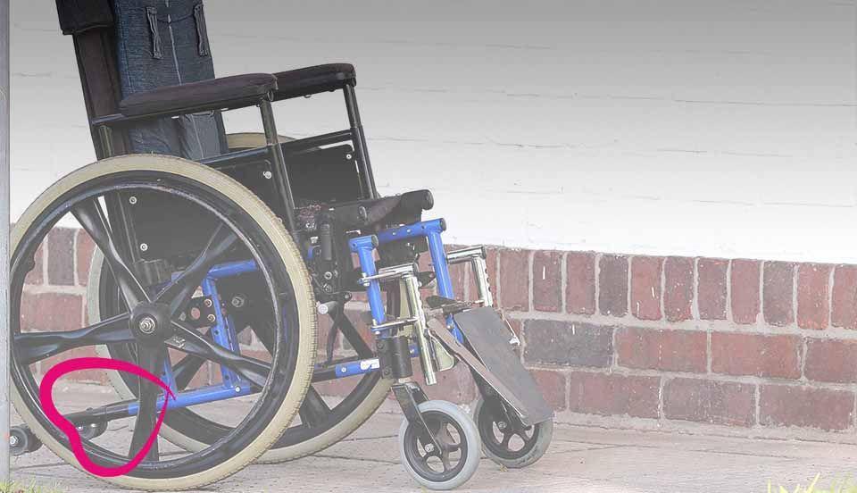 silla ruedas para personas mayores