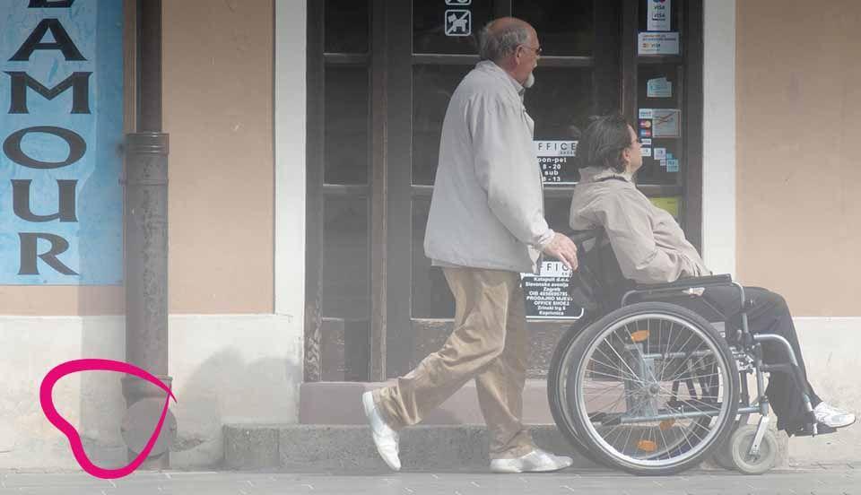 sillla de ruedas paseo