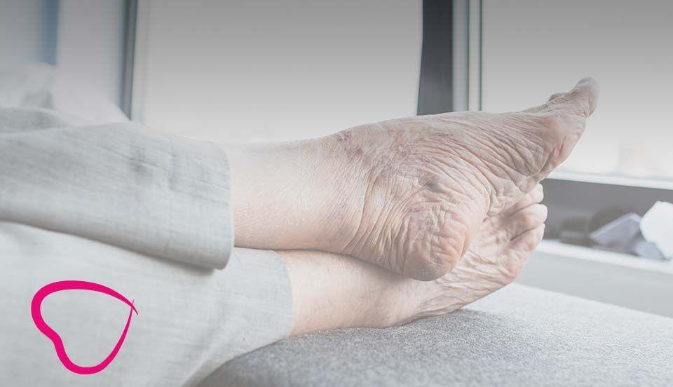 plantilla de pies de mayores