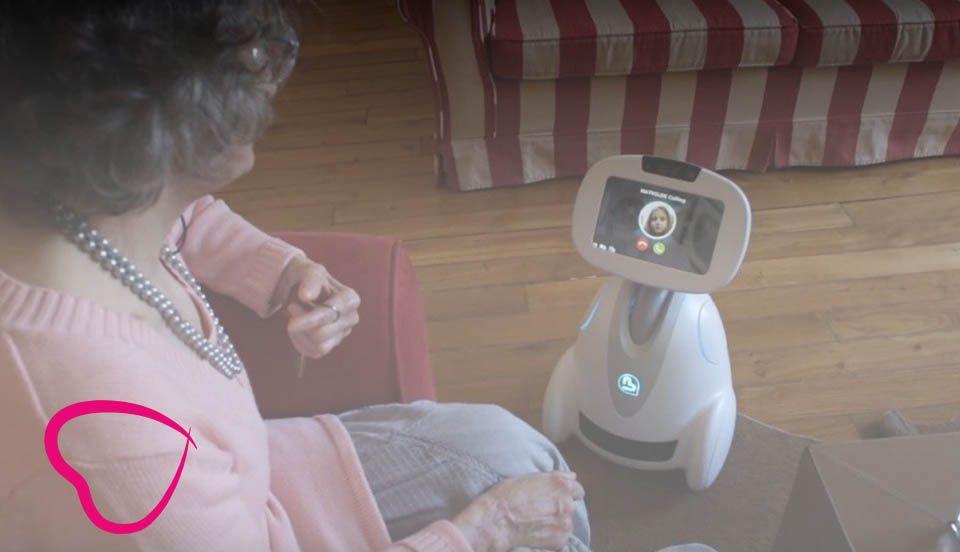 robot para la tercera edad