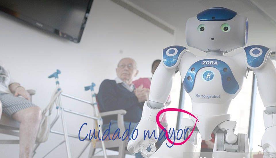 robot personas mayores